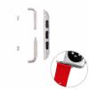 AppleKing Fém csat szíj rögzítéséhez az Apple Watch 38 mm készülékre - 2 darab - ezüst