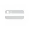 AppleKing Hátsó felső és alsó fedél üveg iPhone 5 készülékre - fehér