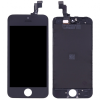 AppleKing Pótalkatrész - LCD kijelző érintőkijelzővel és kerettel Apple iPhone SE - fekete