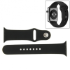 AppleKing Sport gumiszalag - Apple Watch 38mm - fekete