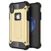 """AppleKing Szuper ellenálló """"Armor"""" tok iPhone X készülékre - arany"""