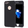 AppleKing Tok iPhone 6 / 6S készülekkel 360° védelemmel és fényes sarkakkal - elülső és hátsó részt is védi - fekete