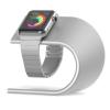 AppleKing Töltő alumínium tartó - U alakú - Apple Watch 38 / 42mm - ezüst