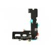 AppleKing Töltő és adatkábel jack konektorral és flex kábellal Apple iPhone 7 Plus készülékhez - fekete