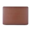 """AppleKing Védő borító / tok bőr felülettel Macbook Air 13""""- re - barna"""