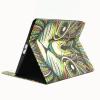 AppleKing Védő flip cover tok beépített állvánnyal és irattárolóval Apple iPad 4 / 3 / 2 - rajzolt macska