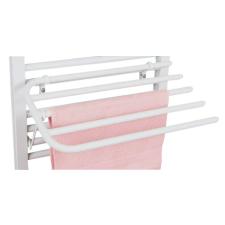 Aqualine Lehajtható szárító 4 törölközőnek fűtőtest, radiátor