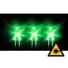 Aquatuning - 5mm LED 12000mcd 20° 3.0V - Zöld