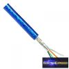 Árnyékolt kábel kék