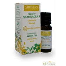 Aromax Aromax Szaunaolaj Frissitő 10 ml olaj és ecet