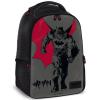 Ars Una Batman nagy iskolatáska hátizsák szürke