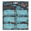 Ars Una csomagolt füzetcímke 3x6 db-os - My Drone