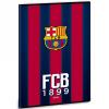 Ars Una FC Barcelona kockás füzet A/4 gránátvörös-kék