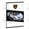 Ars Una Lamborghini kockás füzet A/5