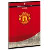 Ars Una Manchester United piros sima füzet A/5
