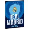 Ars Una Real Madrid címeres vonalas füzet kék A/4
