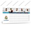 Arsuna Real Madrid kétoldalas órarend - Arsuna