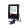Art External lamp LED 30W;SMD;IP65; AC80-265V;black; 4000K-W; sensor