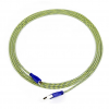 Art kábel USB 2.0 Am/micro USBm kék-sárga fonott 2m oem