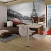 Artgeist Fotótapéta - Eiffel-torony és a piros autó