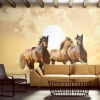 Artgeist Fotótapéta - Futás lovak