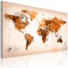 Artgeist Kép - Map of the World - Desert storm