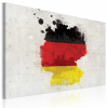 Artgeist Kép - Térkép Németország