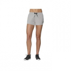Asics Knit Short női rövidnadrág, Heather Grey, XL (141137-0714-XL)