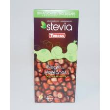 Asix Distribution TR Stevia 03. Mogyorós étcsokoládé hozzáadott cukor nélkül 125 g csokoládé és édesség