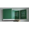 ASS Zöld, oldalszárnyas falitábla 200x150 cm