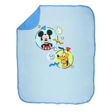 Asti Disney Mickey és Plútó pamut babatakaró kék színes lakástextília