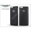 Aston Martin Apple iPhone 7/iPhone 8 valódi bőr hátlap - Aston Martin Racing - black
