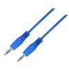 Astrum AUX audió kábel 3,5mm jack apa és 3,5mm jack apa 5M kék CB-SMM05-BL AU115