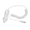 Astrum CC390 iPhone/iPad lightning 8 pin MFI engedélyes autós töltő spirál kábellel 2,4A fehé
