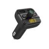 Astrum FM400 autós bluetooth kihangosító + FM Transmitter, LCD kijelző, USB in, USB töltés, MicroSD, mikrofon