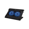 Astrum Gaming Laptop hűtő 2 nagy ventillátorral 17.0 fekete CP210
