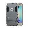 Astrum MC040 ütésálló kitámasztható Samsung S6 EDGE hátlapvédő szürke
