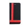 Astrum MC770 TEE PRO mágneszáras Samsung G530 Galaxy Grand Prime könyvtok fekete-piros