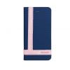 Astrum MC800 TEE PRO mágneszáras Samsung G935 Galaxy S7 EDGE könyvtok sötétkék-fehér