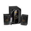 Astrum MS300 2.1 multimédia hangfal szett távirányítóval Bluetooth/FM/USB/kártyaolvasó 40W