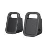 Astrum SU160 fekete 2.0 csatornás 3,5MM multimédia hangszóró USB-s áramellátással, prémium hangzással 2 X 3W, A13516-B