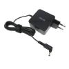 Asus ADP-45AW 4.0*1.35mm 19V 2.37A 45W fekete notebook/laptop hálózati töltő/adapter gyári