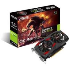 Asus GeForce GTX 1050 Ti OC 4GB GDDR5 128bit PCIe (CERBERUS-GTX1050TI-O4G) videókártya