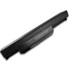 Asus K84HR 6600 mAh 9 cella fekete notebook/laptop akku/akkumulátor utángyártott
