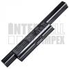 Asus PRO91S Series 4400 mAh 6 cella fekete notebook/laptop akku/akkumulátor utángyártott