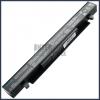 Asus X452CP 4400 mAh 8 cella fekete notebook/laptop akku/akkumulátor utángyártott