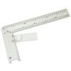 asztalos derékszög, alumínium ; állítás:0-90fok 300mm