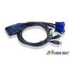 ATEN CS62US 2 port USB VGA Audio KVM switch