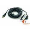 ATEN kábel USB2.0 Type-A (Male) - USB2.0 Type-A (FeMale) Extender 5m /UE250/