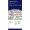 Atlanta & Vicinity, GA térkép - Rand McNally